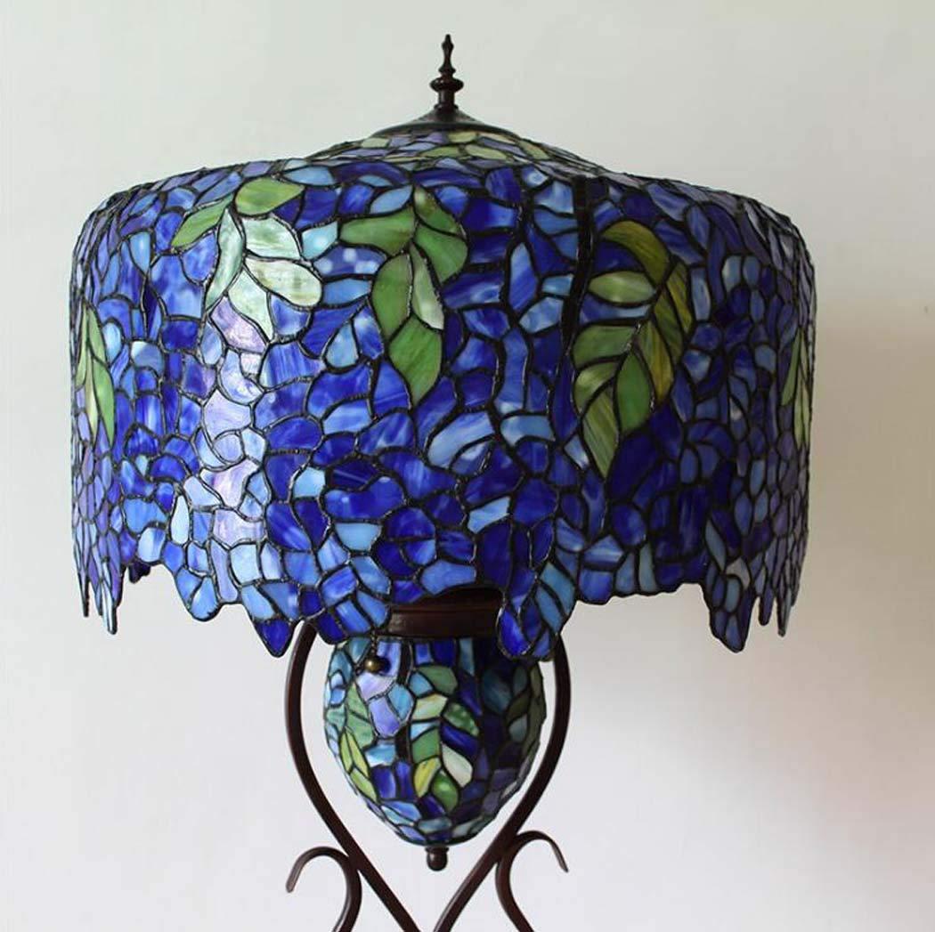 Amazon.com: Tiffany Style Floor Lamp, European Luxury ...