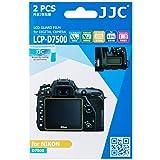 JJC LCP-D7500 2PCS Film Screen Protector for Nikon D7500 DSLR Digital Camera