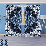 Best Eclipse Home Fashion Thermal Insulated Blackout Curtains Royal Blues - Philiphome Solid Grommet top Thermal Insulated Window Blackout Review