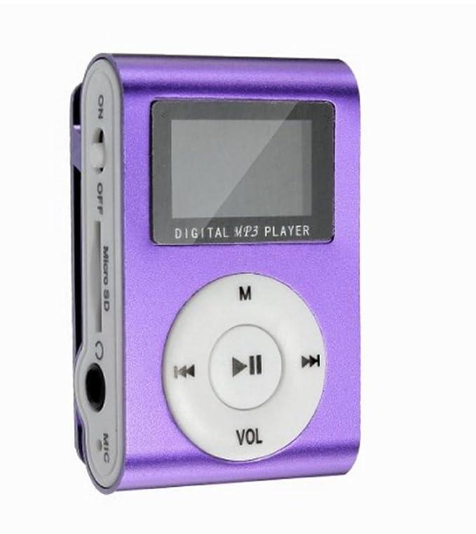 Reproductor de MP3 con tarjeta de memoria - Clip cinturón ...