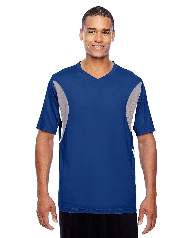 SPORT ROYAL Team 365 Mens Short-Sleeve Athletic V-Neck Sport Jersey