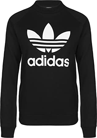 Adidas Damen Sweatshirt Trefoil Crew
