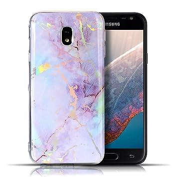 Funda para Samsung J7 2017, CaseLover Mármol Carcasa para ...
