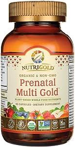 Nutrigold Organic Prenatal Multi Gold, 90Count