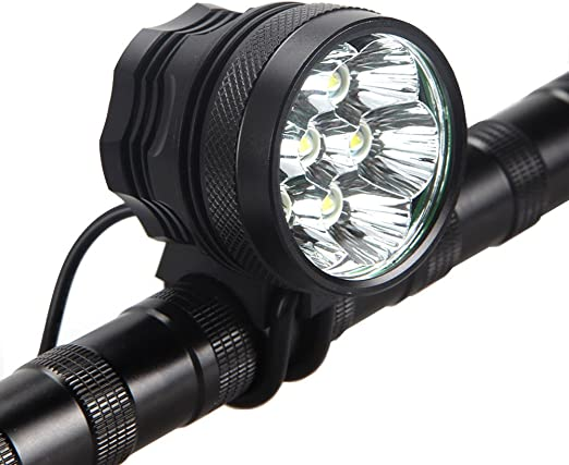 LED Rechargeable Bycicle Front Light Headlamp Headlight Bike Lamp Torch T6 LED