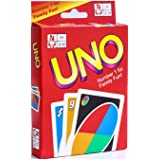 Generic NEW UNO Standard 108 English Fun Cards Game for Family, Number One for Family Fun