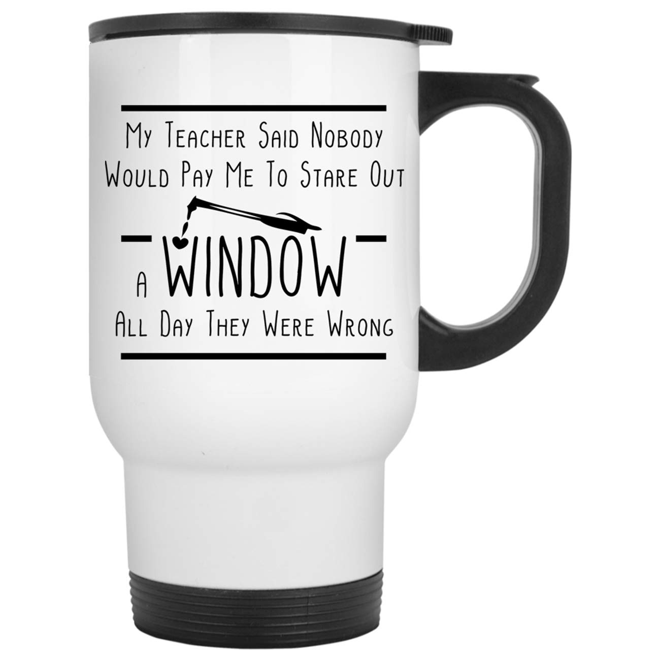 Funny Welder - Nobody Would Pay Me To Stare Out A Window Travel Mugs