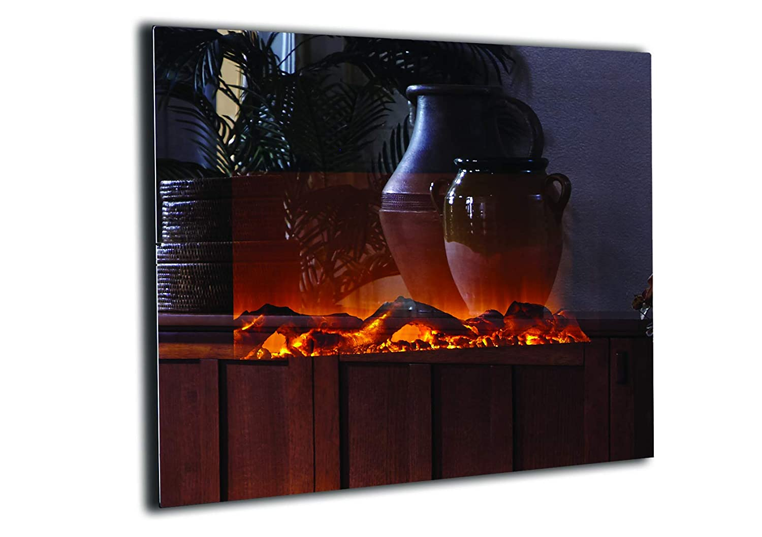 Amazon Com Touchstone 80008 Onyx Electric Fireplace Mirror