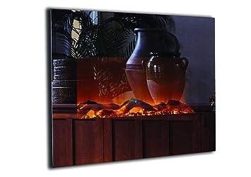 Amazon.com: Touchstone chimenea tipo estufa, para pared ...