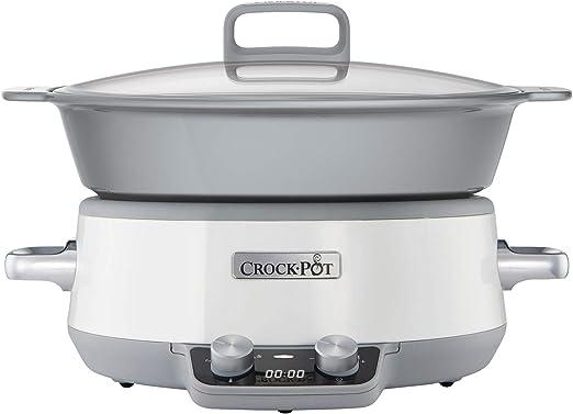 Crock-Pot Duraceramic CSC027X Olla de cocción Lenta Digital ...