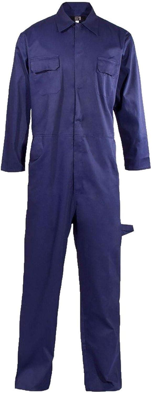 Rimi Hanger Mens Popper Front Polycotton Overall Boiler Suit