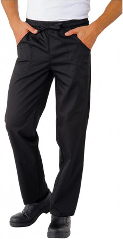 Pantaloni da Lavoro,Slim,con Laccio,Cotone,Cucina,Estetista,Ristorante,Pizzeria,Chef,Cuoco,Infermiere