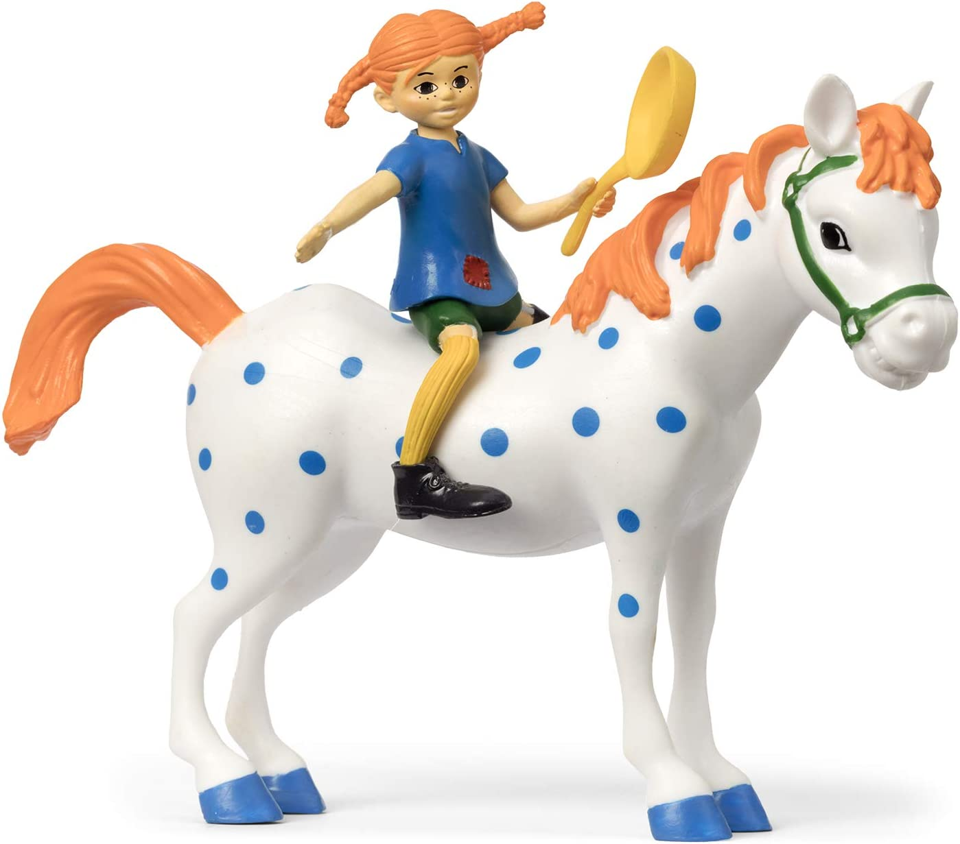 Pippi Longstocking 44-3795-00 Pippi & Little Buddy - Juego de Figuras Multicolor