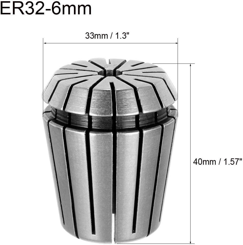 19//25X ER32 Metric Spring Collet Fit CNC Milling Machine Engraving Lathe Tool UK
