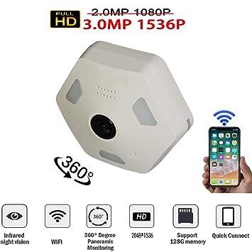 Douper Dome Camera 360 Degree Panoramic Monitor 3 0 Million