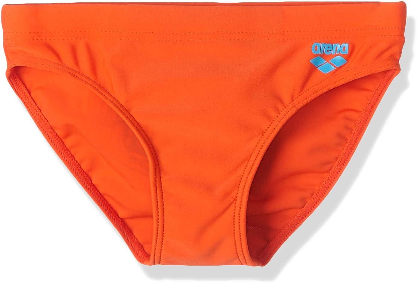 ARENA Jungen Sonnenschutz Slip Badehose Nectarine 110