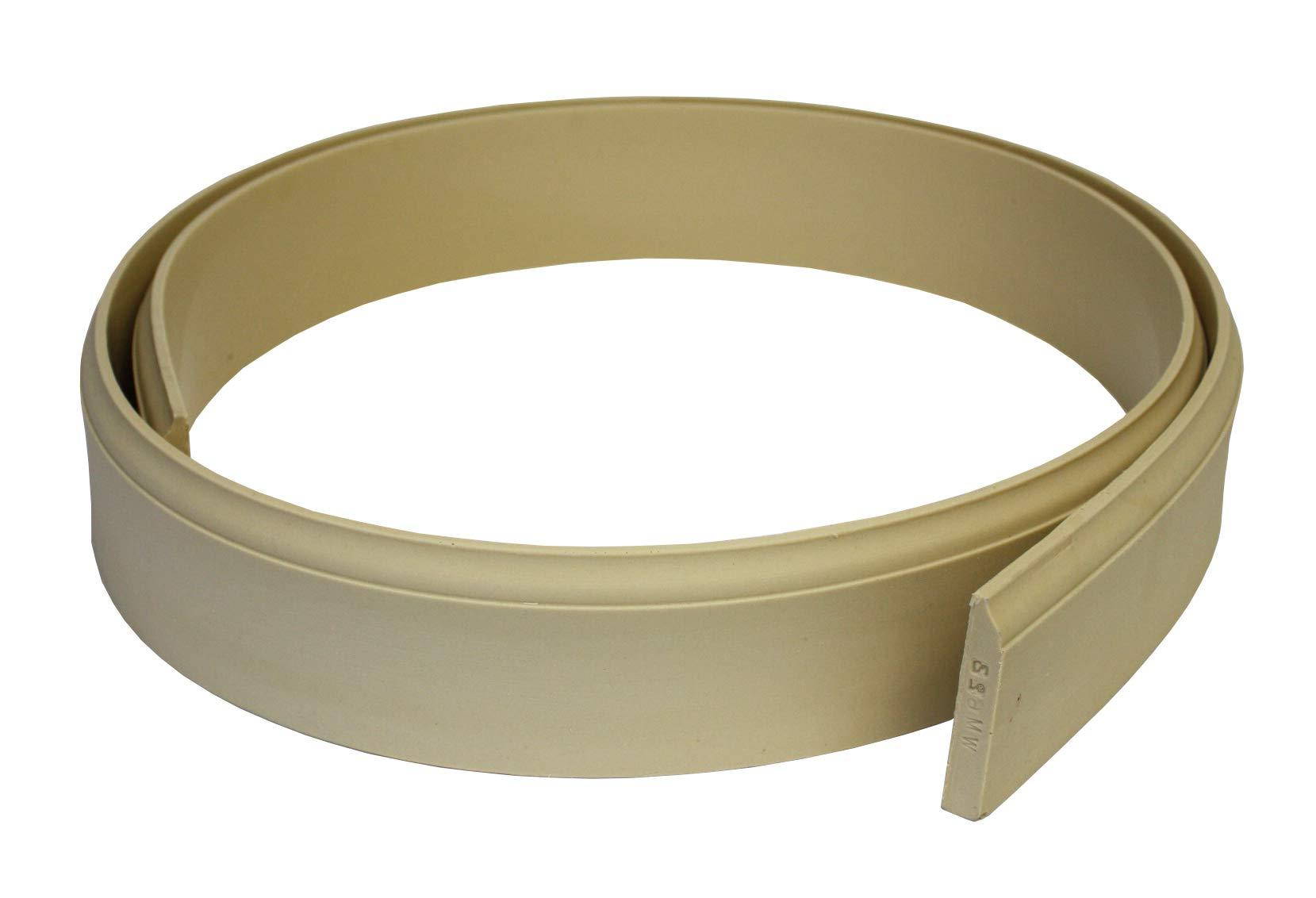 Flexible Moulding - Flexible Base Moulding - WM623 - 9/16'' X 3-1/4'' - 8' Length - Flexible Trim by Duraflex by Resinart