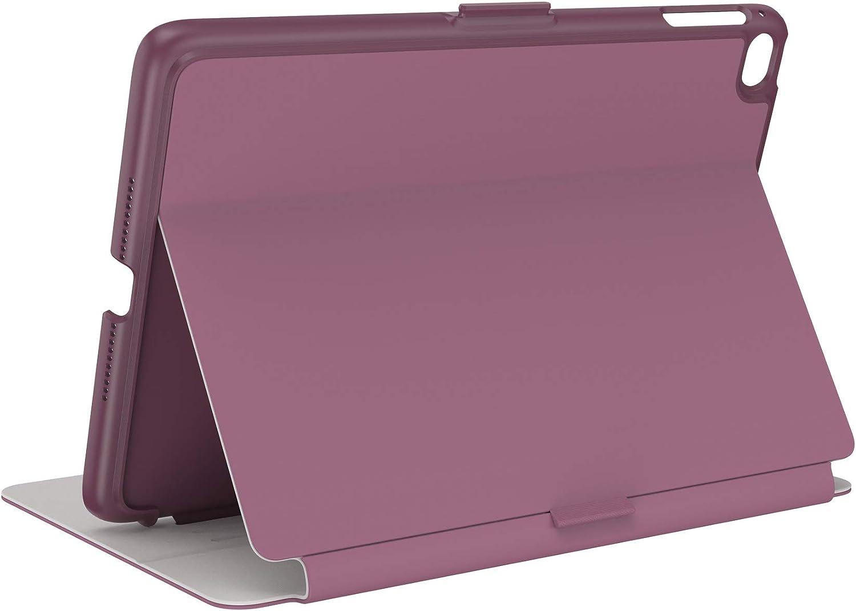 Speck Products Balance Folio iPad Mini 2021/iPad Mini 4/iPad Mini 5 Case and Stand, Plumberry Purple/Crushed Purple/Crepe Pink