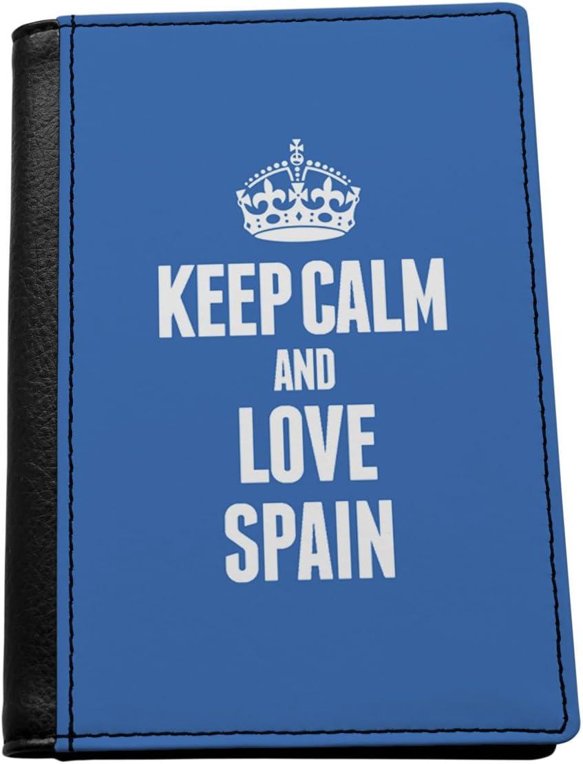 Azul KEEP CALM AND LOVE ESPAÑA titular del pasaporte 2283: Amazon.es: Hogar