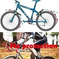 TEMORK guardabarros mtb,3 piezas guardabarros bicicleta ...