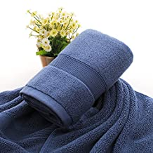 towels Towels Cotton Thickening Towels Adult Water Wash Your Face Cotton Towels Hotels Pure Cotton Face Towel,Navy Blue