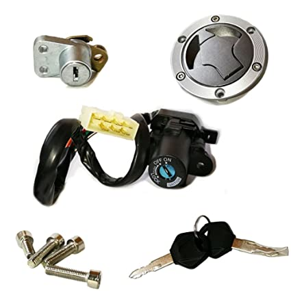 Amazoncom Unlimitedrider Ignition Switch Lock Fuel Gas Cap Cover