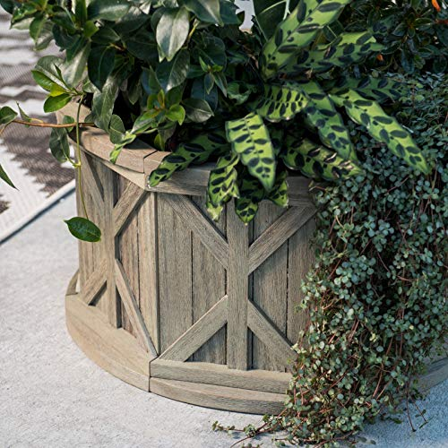 Buy driftwood planter box