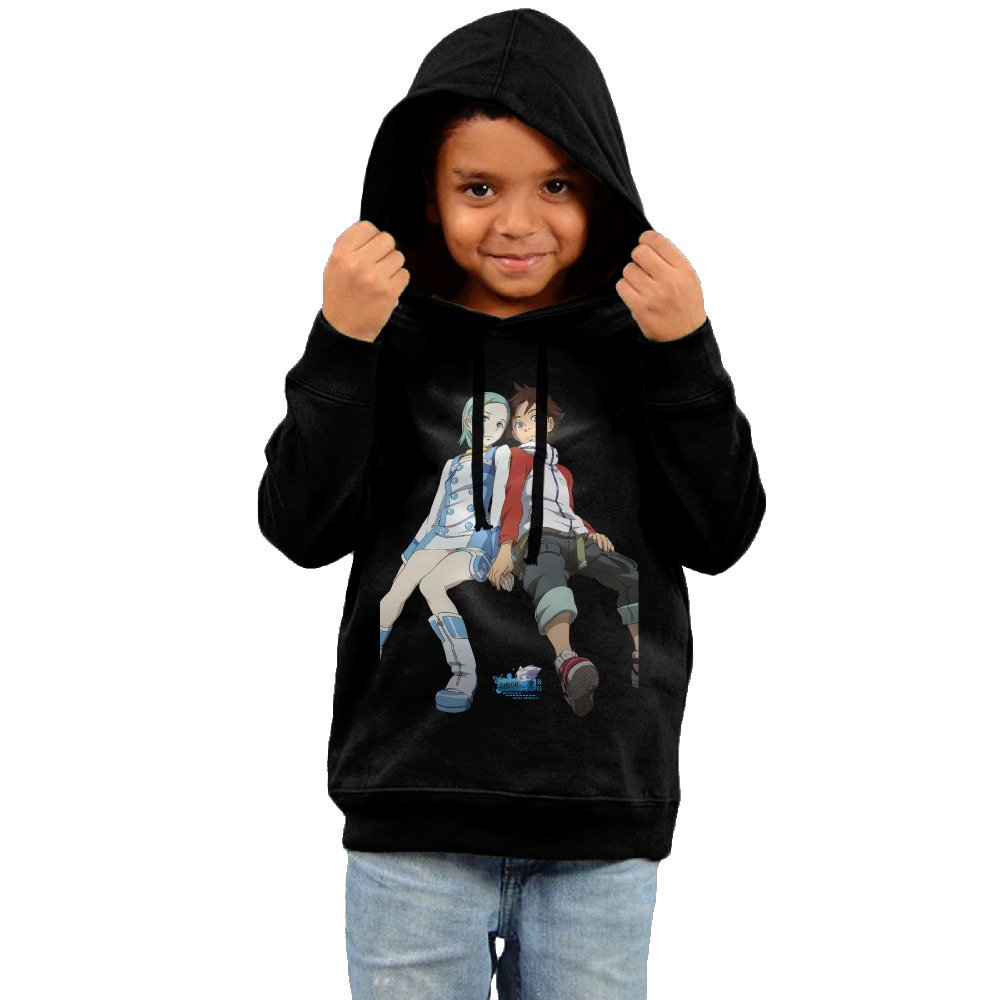 Toddler Cool Eureka Seven 100% Cotton Long Sleeve Sweater
