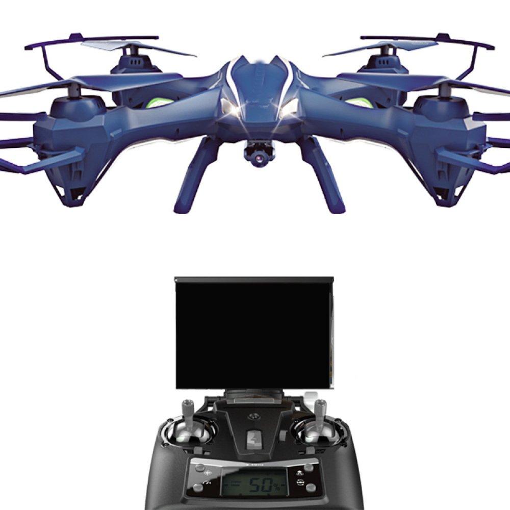 Drohne RC Drone WiFi FPV Quadcopter 2 4 Ghz 6 Achsen Gyro 4CH Fernbedienung Hubschrauber Einstellbare Weitwinkel 720 P HD WIFI Kamera Höhe Halten Intelligente Batterie Lange Steuerdistanz (VR Gläser Als Geschenk)