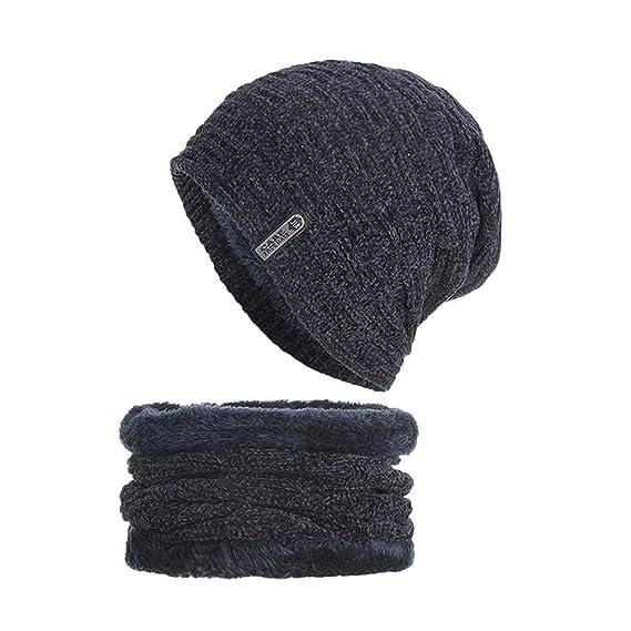 DAYLIN 2PCS Sombreros Bufanda Conjunto para Hombres Mujeres ...