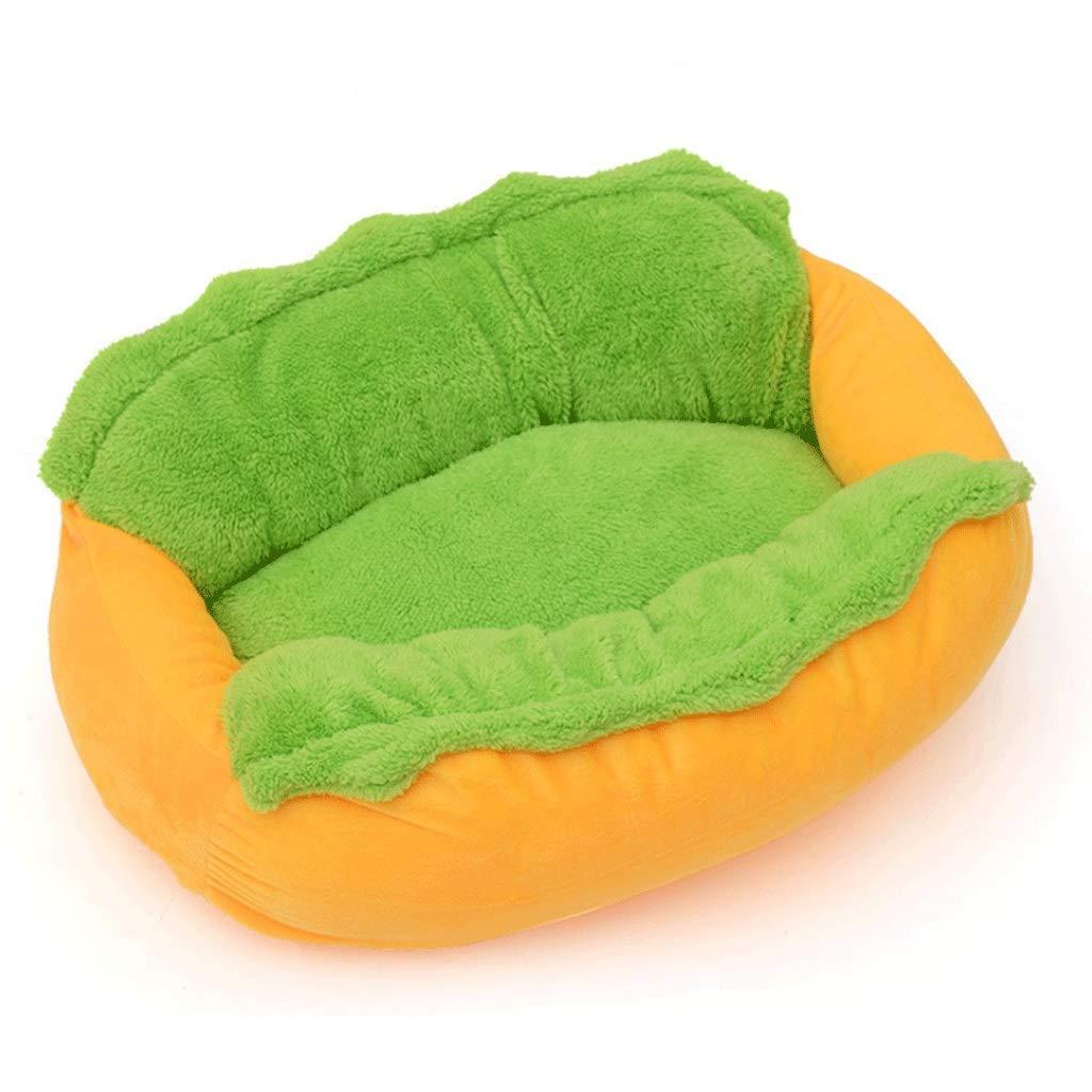 726223CM Pet Bed Pet Litter Cat Litter Hot Dog Intestinal Pet Pad Dog Bed Washable A+ (Size   72  62  23CM)