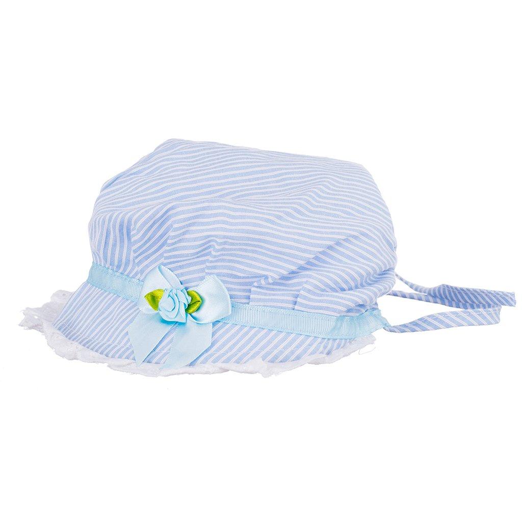 Baoblaze Cappellini da Sole Cap Cappelli Hat per 3-24 mesi Neonato - Blu 11a084647dca
