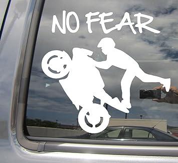 No Fear calcomanías X 2 Pared//coche//Laptop//Patineta