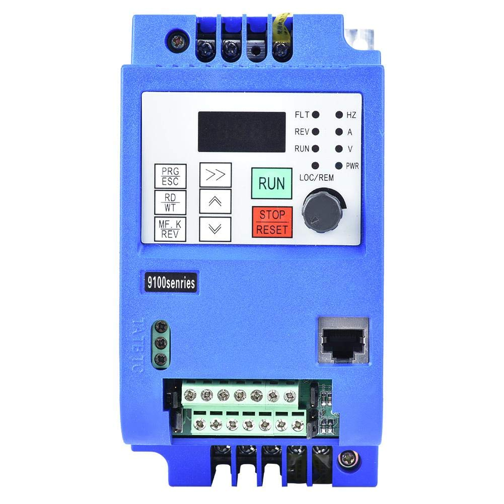 Automation Equipment Frequency Controller,NF9100-1T-00150G Single-Phase to Three-Phase VFD Speed AC220V 1.5KW by Xinwoer
