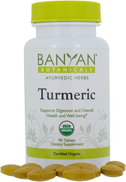 Banyan Botanicals Turmeric Tablet Supplement