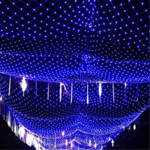 FFJTS Blue 8 Modes Fairy Christmas Party Waterproof with Connectable Outdoor Indoor Festival Decoration light , 22