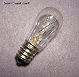 white 1418 sewing machine - NewPowerGear New Sew LIGHT BULB Simplicity Replacement for WHITE 510, 571, 622, 915, 944, 1099, 1409, 1415, 1418, 1477