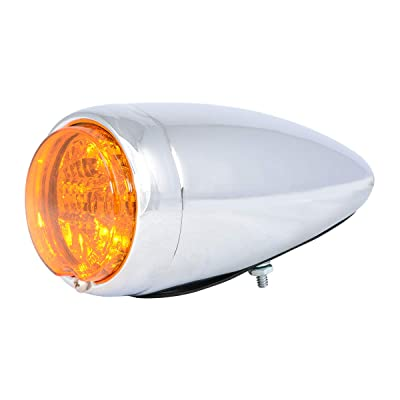 Grand General 77210 Light (Clear Steel Spyder Amber/Amber LED Turn and Parking), 1 Pack: Automotive