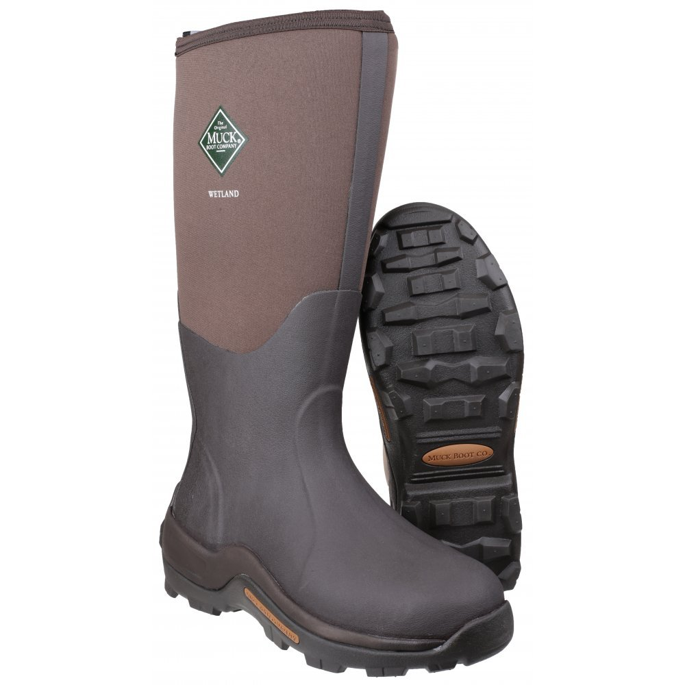 The Original Muck Boot Company Wetland Men's Boots 9 US Brown by Muck Boot (Image #3)