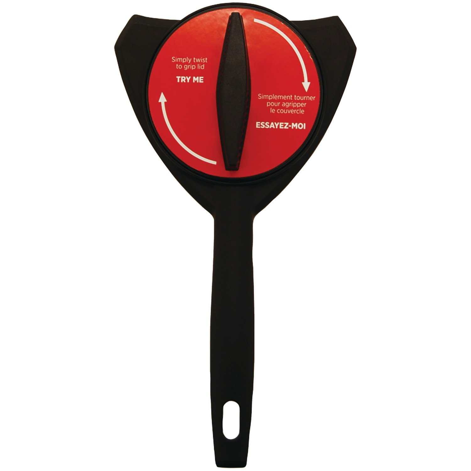 Starfrit 093314-006-0000 Mightigrip Jar Opener,Black/Red 61qEM1qoO8L