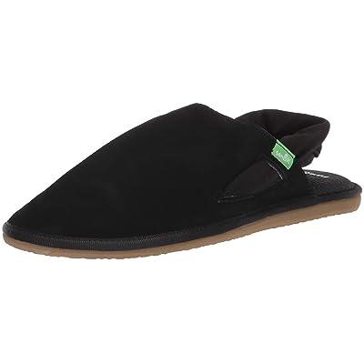 Sanuk Women's Yoga Sling Cruz Suede Sandal   Shoes
