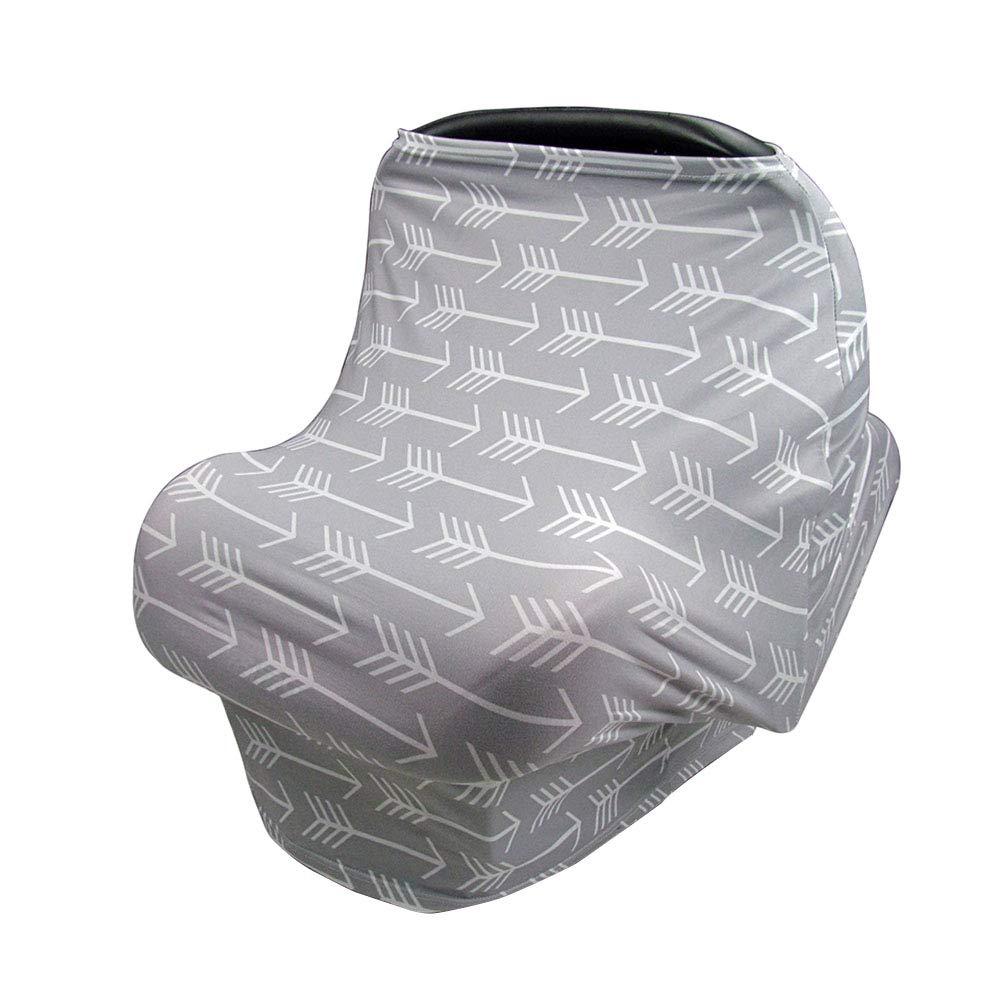 Healifty Nursing Cover Breastfeeding Scarf Car Seat Cover for Stroller Breast Feeding