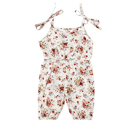 808a333dd103 Amazon.com  SMALLE 2PCS Infant Kids Baby Girls Sleeveless Feather ...