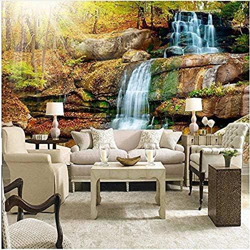 Ljunj 壁の自然な秋の風景の寝室のためのカスタム3D壁壁画写真の壁紙風景-400X280Cm