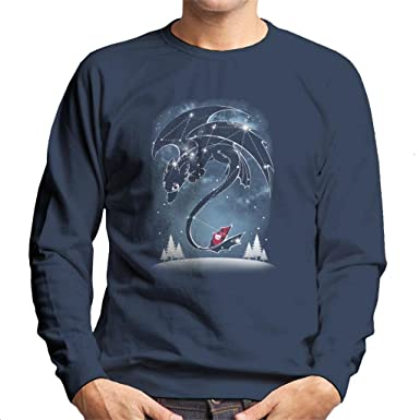 How To Train Your Dragon Starry Dragon Sky Men/'s T-Shirt