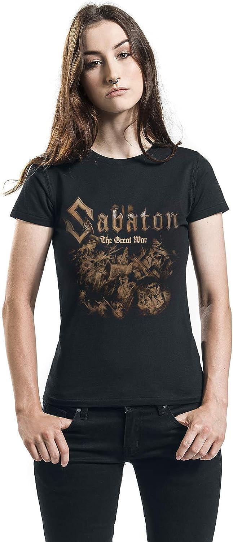 Sabaton The Great War Soldiers T-Shirt schwarz