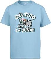 Diver Camisetas Camiseta Céltico Desde la Cuna Celta Vigo fútbol