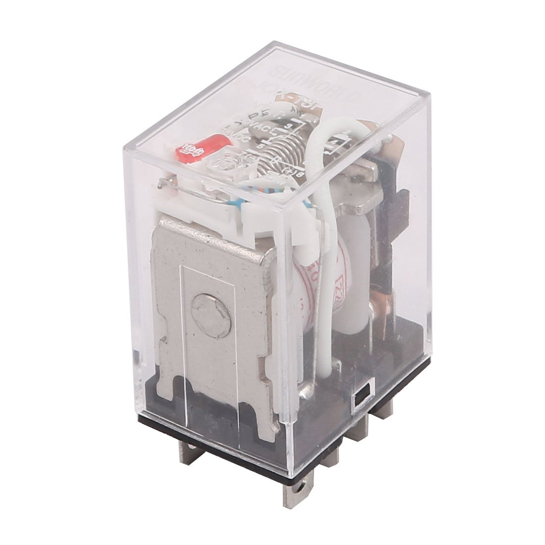 uxcell JQX-13F AC 220V Coil 8 Pin DPDT Power Relay 7.5A 220VAC/ 10A 24VDC a12080100ux0279
