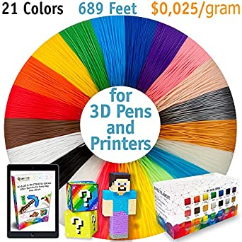 Generic Cool 3d Pen Filament Pack 3d Printer Consumables