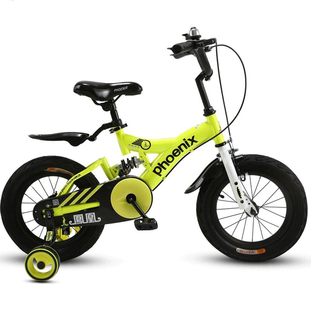 子供の折りたたみ自転車14/16/18インチの男の子サイクリングガール3-12歳のベビーカーの子供のマウンテンバイク (色 : C, サイズ さいず : 14 inches) B07D37GT6T 14 inches|C C 14 inches